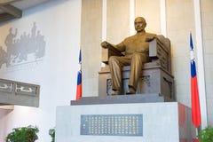台北,台湾- 2016年1月28日:全国博士 纪念参议员sun yat 库存照片