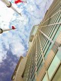 台北,台湾- 2015年11月22日:台北101塔,看法从 免版税图库摄影