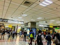 台北,台湾- 2015年11月20日:在台湾高施佩的看法 免版税库存图片