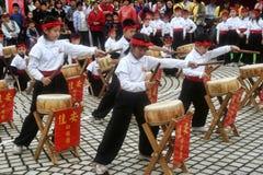 台北,台湾10月30日 2004年:普遍的鼓手Kodo, 10月30日 2004年,台北,台湾 免版税库存照片
