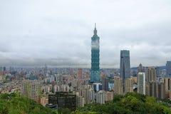 台北101和城市 图库摄影