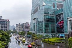 台北101摩天大楼基地  库存图片