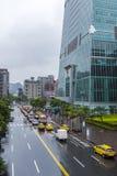 台北101摩天大楼基地  免版税库存图片