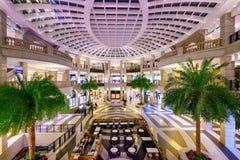 台北购物中心 库存照片