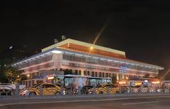 台北主要火车站都市风景台湾 库存照片