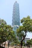 台北101,高层建筑物在台北,台湾, ROC 免版税库存照片