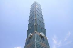 台北101,高层建筑物在台湾 库存照片