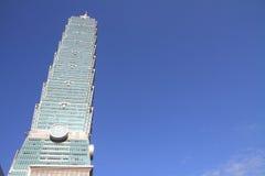 台北101,高层建筑物在台湾 图库摄影