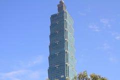 台北101,高层建筑物在台湾 免版税库存照片