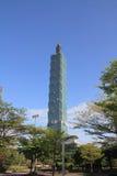 台北101,高层建筑物在台湾 免版税库存图片
