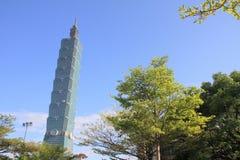 台北101,高层建筑物在台湾 库存图片