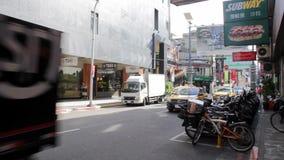 台北Hsimending街视图 HD 影视素材