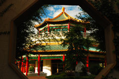 台湾友谊Pavillion,诺福克 免版税库存图片