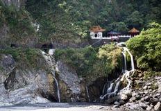 台湾太鲁阁国家公园 图库摄影