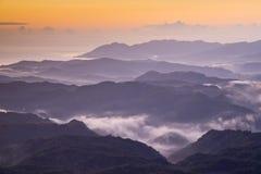 台湾山美好的风景 库存图片