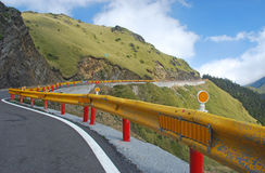 台湾山高速公路  免版税库存照片