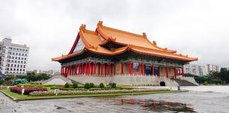 台湾民主纪念公园在台北,台湾 免版税库存图片
