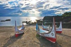 台湾海岛样式 免版税库存图片