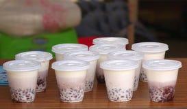 台湾珍珠牛奶茶 免版税库存照片