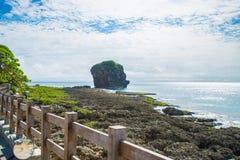 台湾航行石头 库存图片
