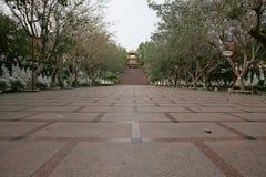 台湾菩萨寺庙 库存照片
