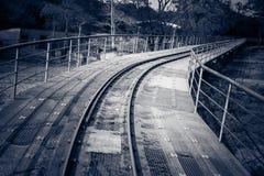 台湾轨道 库存照片