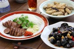 台湾食物开胃菜 库存图片