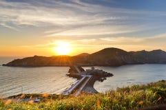 台湾马祖观光的吸引力 免版税库存照片