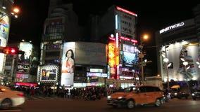 台湾:西门町 股票视频