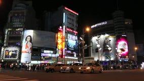 台湾:西门町 影视素材