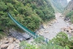台湾-2016年1月18日:太鲁阁国家公园 一个著名风景我 免版税图库摄影