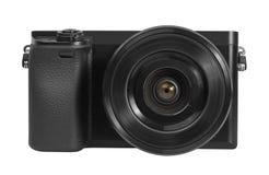 2台照相机数字式查出的照片支持白色 库存照片