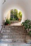 台阶和门 库存图片