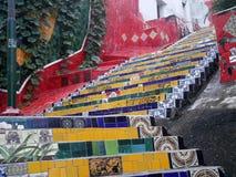 台阶在里约热内卢 库存照片