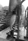 台阶在Xilitla 免版税库存照片