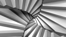 台阶抽象ESCHER 库存例证
