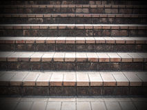 台阶步背景 免版税库存照片