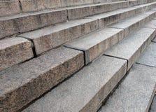 台阶混凝土 免版税库存照片