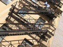 台阶的阴影- 1 免版税库存图片