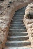台阶石头 库存图片