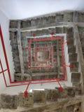 台阶迷宫 免版税库存图片