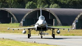 台风战斗机喷气式歼击机飞机 库存照片