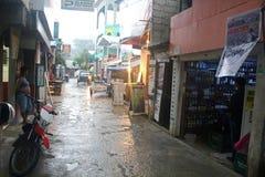 台风菲律宾 库存照片