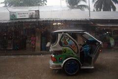 台风菲律宾 免版税库存图片