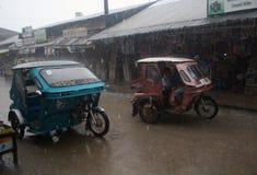 台风菲律宾 库存图片