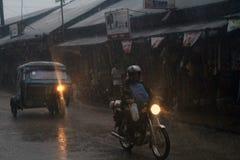 台风菲律宾 免版税图库摄影