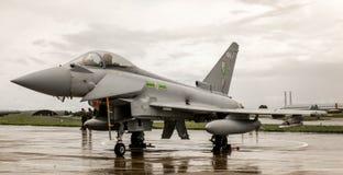 台风Eurofighter喷气机 免版税库存照片