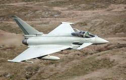 台风Eurofighter喷气机 库存照片