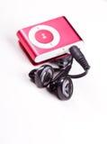 1台MP3播放器 免版税库存图片