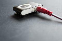 1台MP3播放器 免版税库存照片